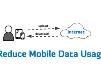 Reduce Mobile Data Usage