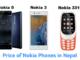 Nokia phones in Nepal