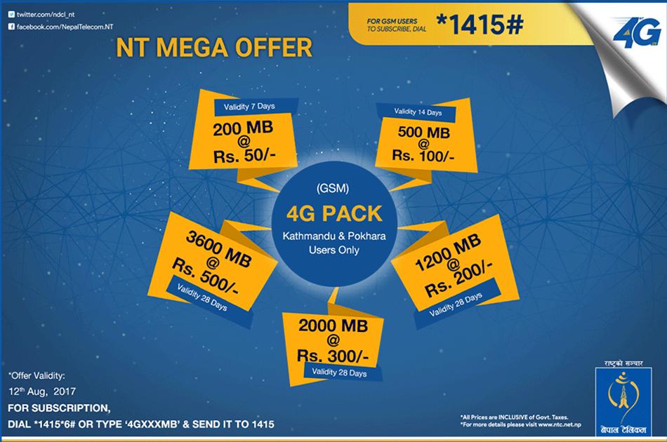 Nepal Telecom Mega Offer