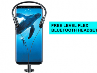 Level Flex Bluetooth headset