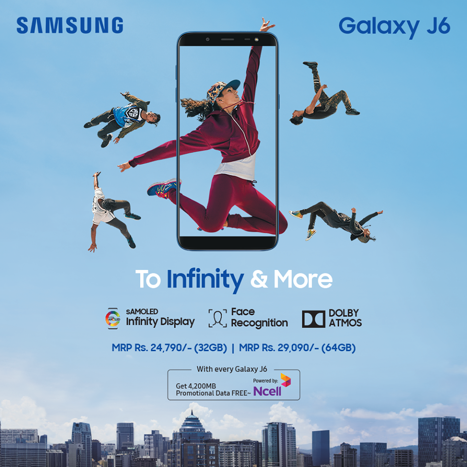 Galaxy J6 Price in Nepal
